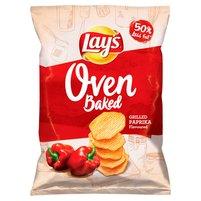 LAY'S Oven Baked Pieczone formowane chipsy ziemniaczane o smaku grillowanej papryki