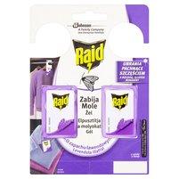 RAID Zawieszki przeciw molom w żelu o zapachu lawendowym
