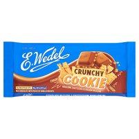 E. WEDEL Crunchy Cookie Czekolada mleczna z ciasteczkami waniliowymi