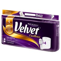 VELVET Excellence Papier toaletowy Premium Komfort