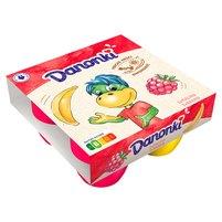 DANONE Danonki Mega malina banan Twarożek (4 szt.)