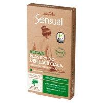 JOANNA Sensual Vegan Plastry do depilacji ciała + Tubka z oliwką łagodzącą