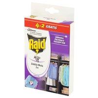 RAID Zawieszki przeciw molom w żelu lawenda (6 x 3 g)