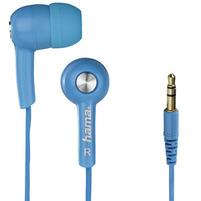 HAMA Słuchawki douszne HK2103 niebieskie