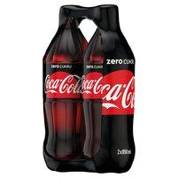 COCA-COLA Zero Napój gazowany (2 x 850 ml)