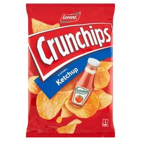 CRUNCHIPS Chipsy ziemniaczane o smaku ketchup