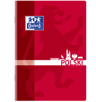 OXFORD Przedmiotowy Zeszyt miękki A5 linia 60 kartek Polski
