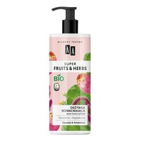 AA Super Fruits&Herbs odżywka wzmacniająca włosy suche i łamliwe opuncja&amarantus