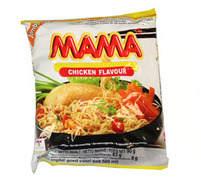MAMA Chicken Flavour Noodles Tajski rosół drobiowy z makaronem