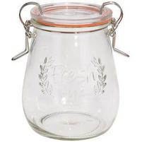 EH EXCELLENT HOUSEWARE Słoik Pojemnik szklany na żywność z uszczelką 500 ml
