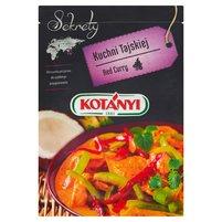 KOTANYI Sekrety Kuchni Tajskiej Red Curry Mieszanka przypraw