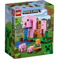 LEGO Minecraft Dom w kształcie świni 21170 (8+)