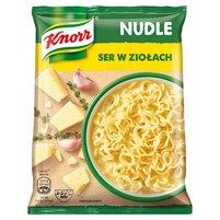 KNORR Nudle Ser w ziołach Zupa-danie