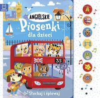 AKSJOMAT Angielskie piosenki dla dzieci. Słuchaj i śpiewaj (okładka twarda)