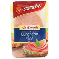 SOKOŁÓW Na kanapkę Luncheon Meat Szynka w plastrach