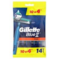 GILLETTE Blue II Plus Maszynki jednorazowe dla mężczyzn