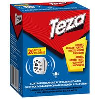 TEZA Elektrofumigator z płytkami na komary (20szt.)