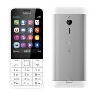 NOKIA Telefon komórkowy 230 DS Silver-White