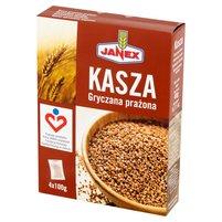 JANEX Kasza gryczana prażona (4 x 100 g)