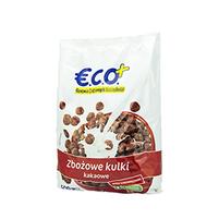 ECO+ Kuleczki zbożowe o smaku czekoladowym