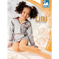 WOLA Lilki Rajstopy gładkie 128/158 cm mix kolorów