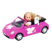 SIMBA Evi Love z samochodem