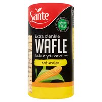 SANTE Extra cienkie wafle kukurydziane naturalne