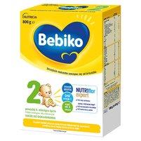 BEBIKO 2 Mleko następne dla niemowląt powyżej 6. miesiąca życia (2 x 400 g)