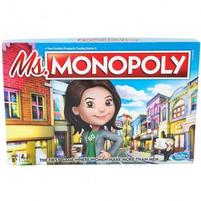 HASBRO Monopoly Gra planszowa Ms. (8+)