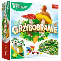 TREFL Grzybobranie Rodzina Treflików Gra planszowa (4+)