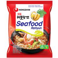 NONGSHIM Seafood Ramyun Zupa błyskawiczna owoce morza łagodna