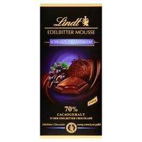 LINDT 70% Gorzka czekolada nadziewana musem i nadzieniem z czarnych porzeczek