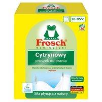 FROSCH Proszek do prania tkanin białych cytrynowy (18 prań)