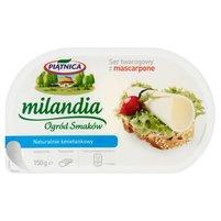 PIĄTNICA Milandia Ogród Smaków Ser twarogowy z mascarpone naturalnie śmietankowy