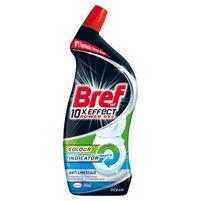 BREF WC 10xEffect Power Gel Płynny środek do mycia muszli WC przeciw kamieniowi