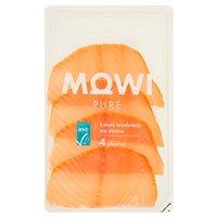 MOWI Pure Łosoś wędzony na zimno (4 plastry)