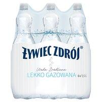 ŻYWIEC ZDRÓJ Woda źródlana lekko gazowana (6 x 1,5 l)