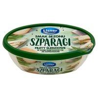 LISNER Smak Sezonu Filety śledziowe w sosie śmietanowym ze szparagami