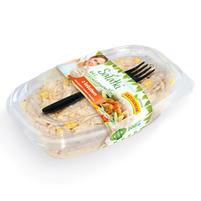 GRZEŚKOWIAK Sałatka z kebabem warzywami i sosem shoarma