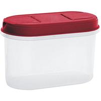 PLAST TEAM Pojemnik na żywność z dozownikiem 1,1L czerwony