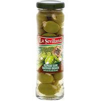 LA SEVILLANA Hiszpańskie oliwki nadziewane migdałem