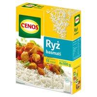 CENOS Ryż basmati (4 torebki)