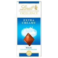 Lindt Excellence Extra Creamy Czekolada mleczna