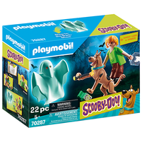 PLAYMOBIL Scooby Doo! Scooby i Kudłaty z duchem Zestaw figurek 70287 (5+)