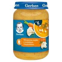 GERBER Wiosenna zupka z indykiem i koperkiem dla niemowląt po 6. m-cu