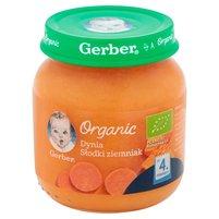 GERBER Organic Dynia słodki ziemniak po 4. m-cu