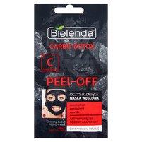 BIELENDA Carbo Detox Oczyszczająca maska węglowa cera mieszana i tłusta (2 x 6 g)
