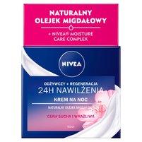 NIVEA Essentials Intensywnie regenerujący krem na noc cera sucha i wrażliwa
