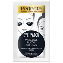 PERFECTA Eye Patch Węglowe płatki pod oczy Redukcja zmarszczek