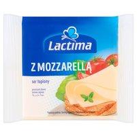 LACTIMA Ser topiony w plasterkach z Mozzarellą (8 x 16,25 g)